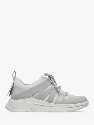 Fitflop Carita Lace Up Trainers, Grey