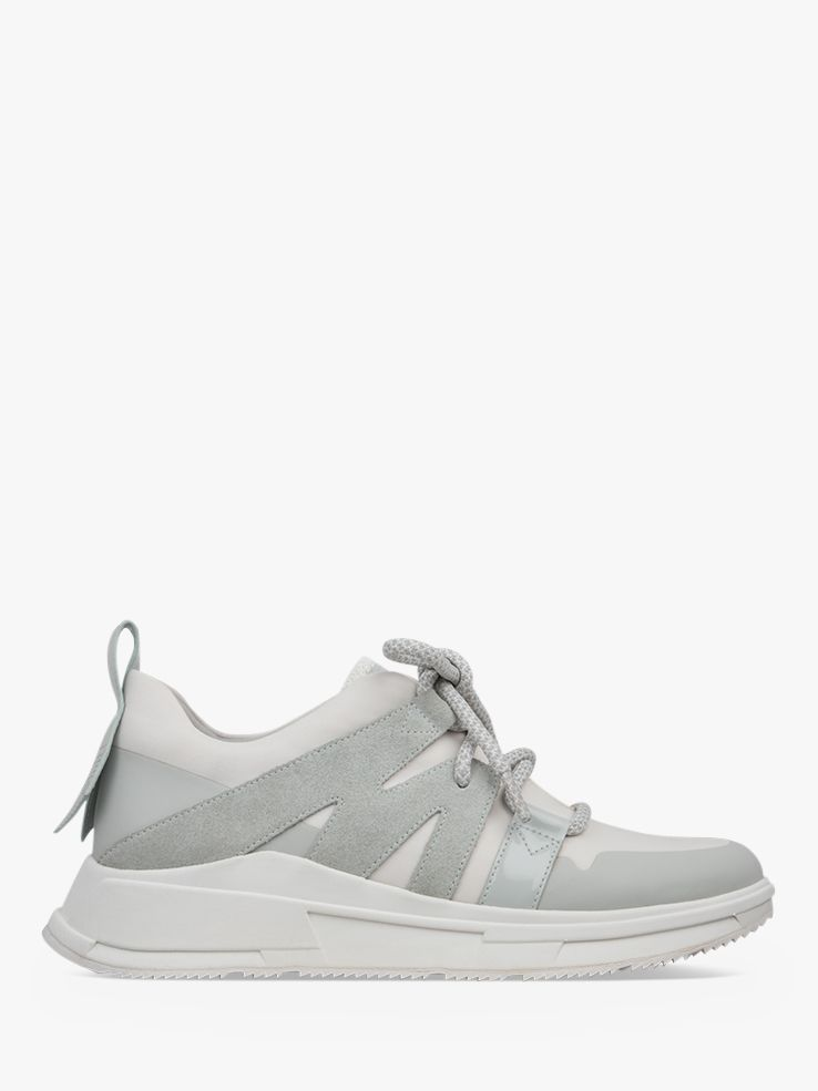 Fitflop Fitflop Carita Lace Up Trainers, Grey