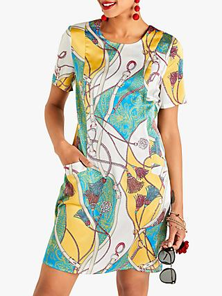 Yumi Tassel Print Mini Dress, Multi