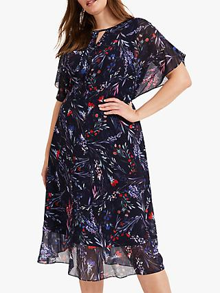 Studio 8 Arabella Print Dress, Navy