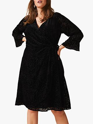 Studio 8 Lucia Velvet Dress, Black