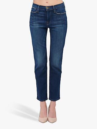 FRAME Le High Straight Leg Jeans, York