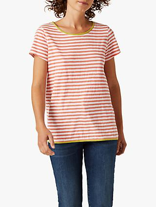White Stuff Cherri Striped Jersey T-Shirt