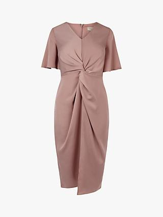 Coast Knot Front Dress, Blush