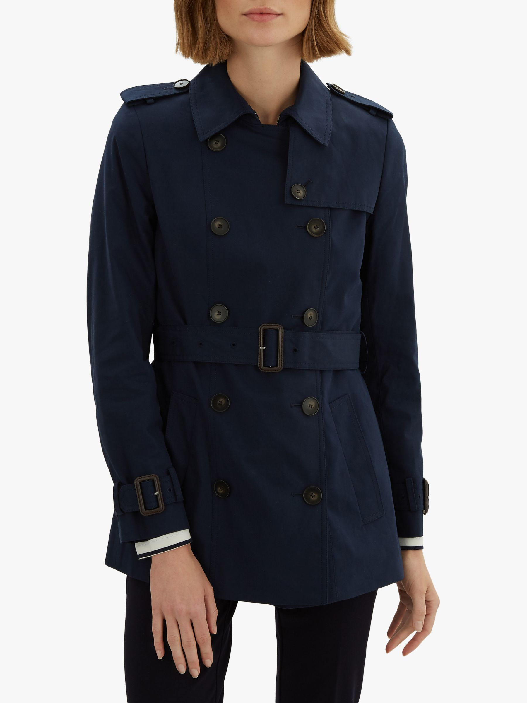 Jaeger Jaeger Short Cotton Trench Coat
