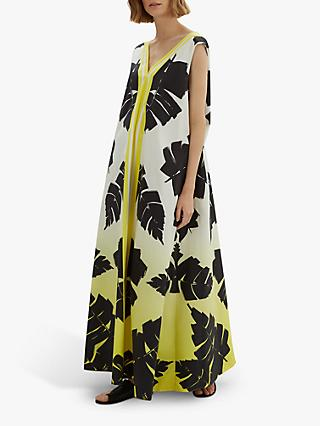 Jaeger Palm Leaf Full Dress, Multi