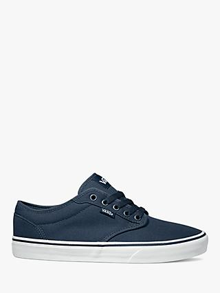 Vans Atwood Canvas Trainers, Navy/White