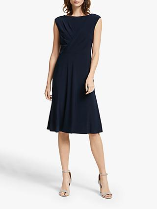 Lauren Ralph Lauren Watley Cap Sleeve Dress, Lighthouse Navy