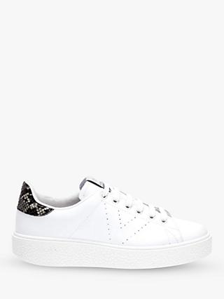 Victoria Shoes Utopia Lace Up Trainers, White