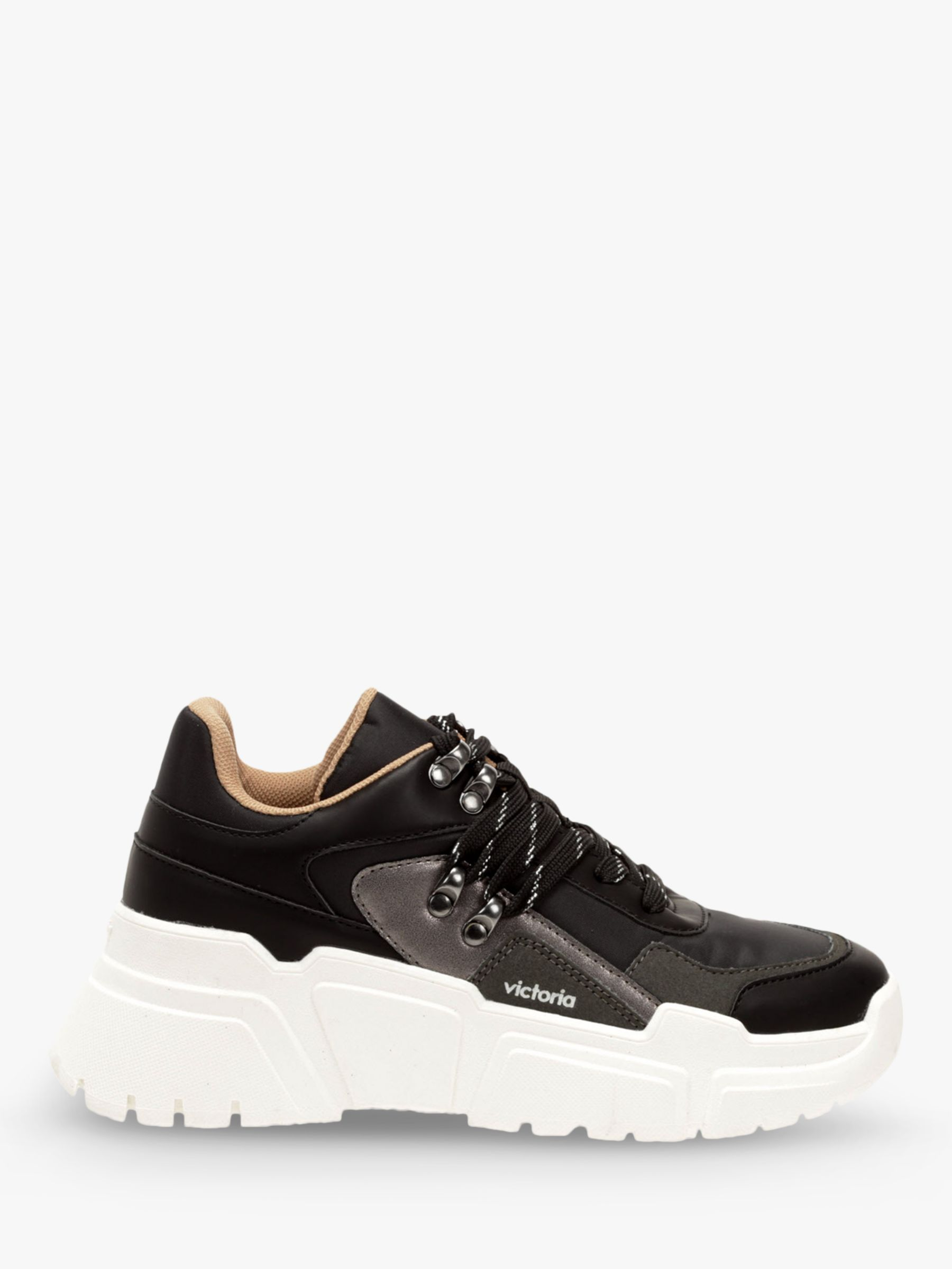 Victoria Shoes Victoria Shoes Totem Chunky Trainers, Black