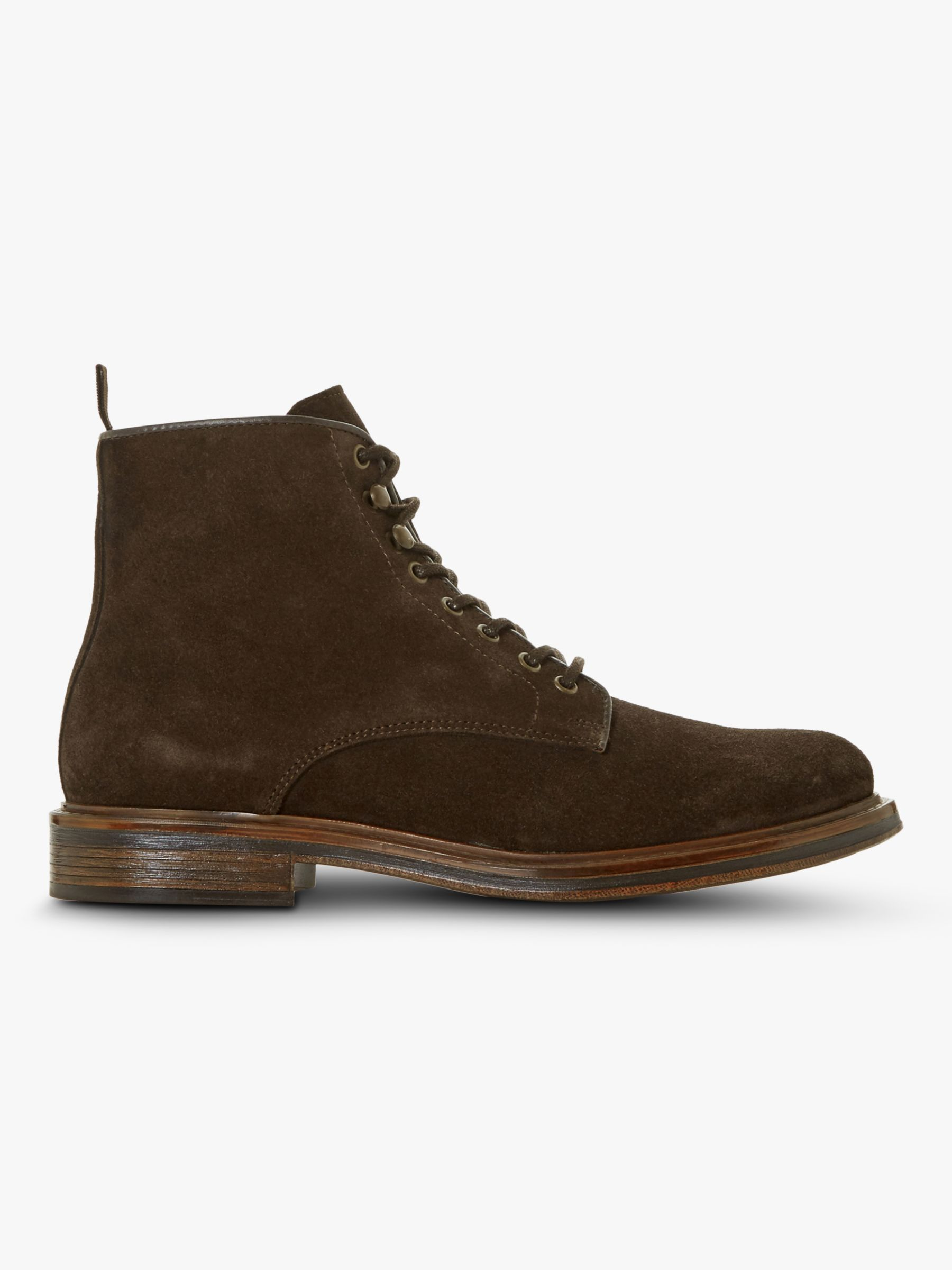Dune Dune Cocoa Suede Ankle Boots