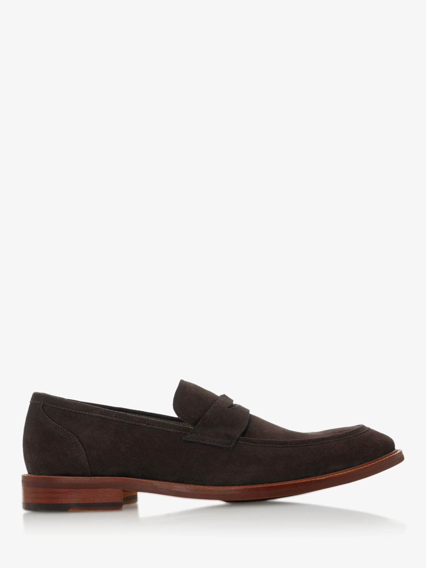 Dune Dune Basell Suede Penny Loafers