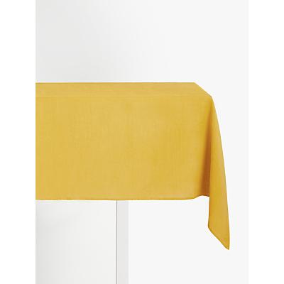 John Lewis & Partners GOTS Organic Linen Tablecloth