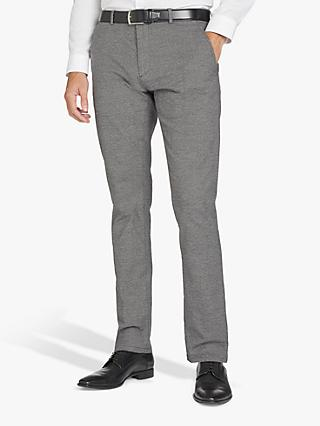 HUGO by Hugo Boss Glen193 Melange Slim Fit Chinos, Grey