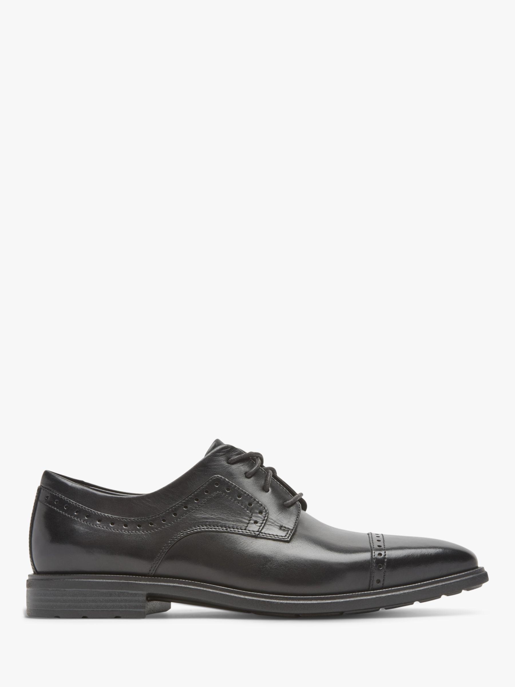Rockport Rockport Business 2 Leather Derby Shoes, Black Glass