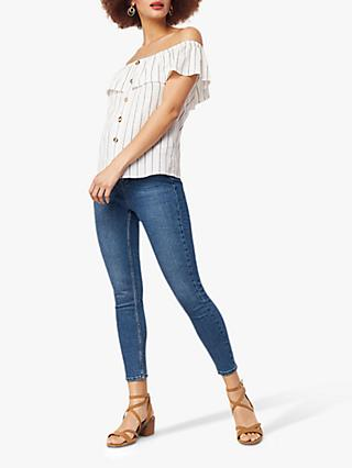 Oasis Lily Cropped Jeans, Denim