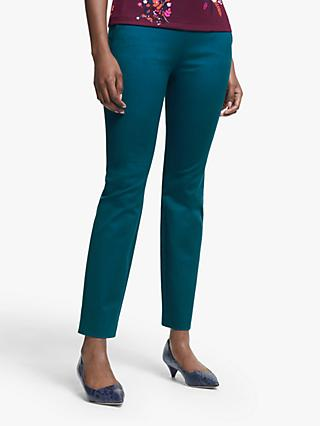 Boden Bath Bi-Stretch Trousers, Baltic