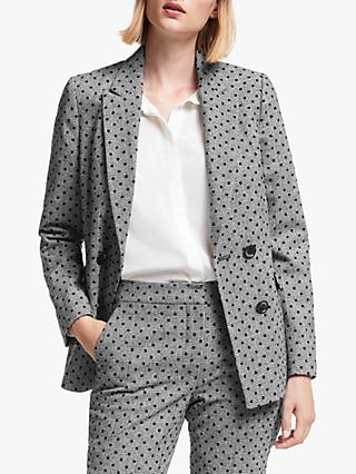 Boden Fawcett Blazer Jacket, Grey