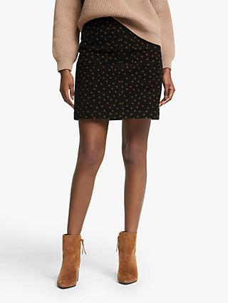 Boden Bay Mini Skirt, Pumpkin