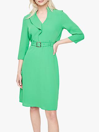 Damsel in a Dress Cindie Belted Dress, Green