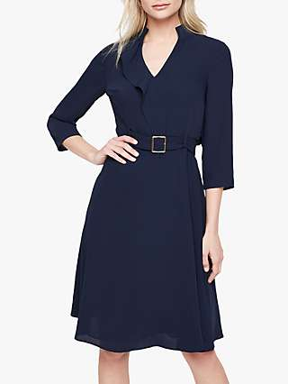 Damsel in a Dress Cindie Belted Dress, Navy