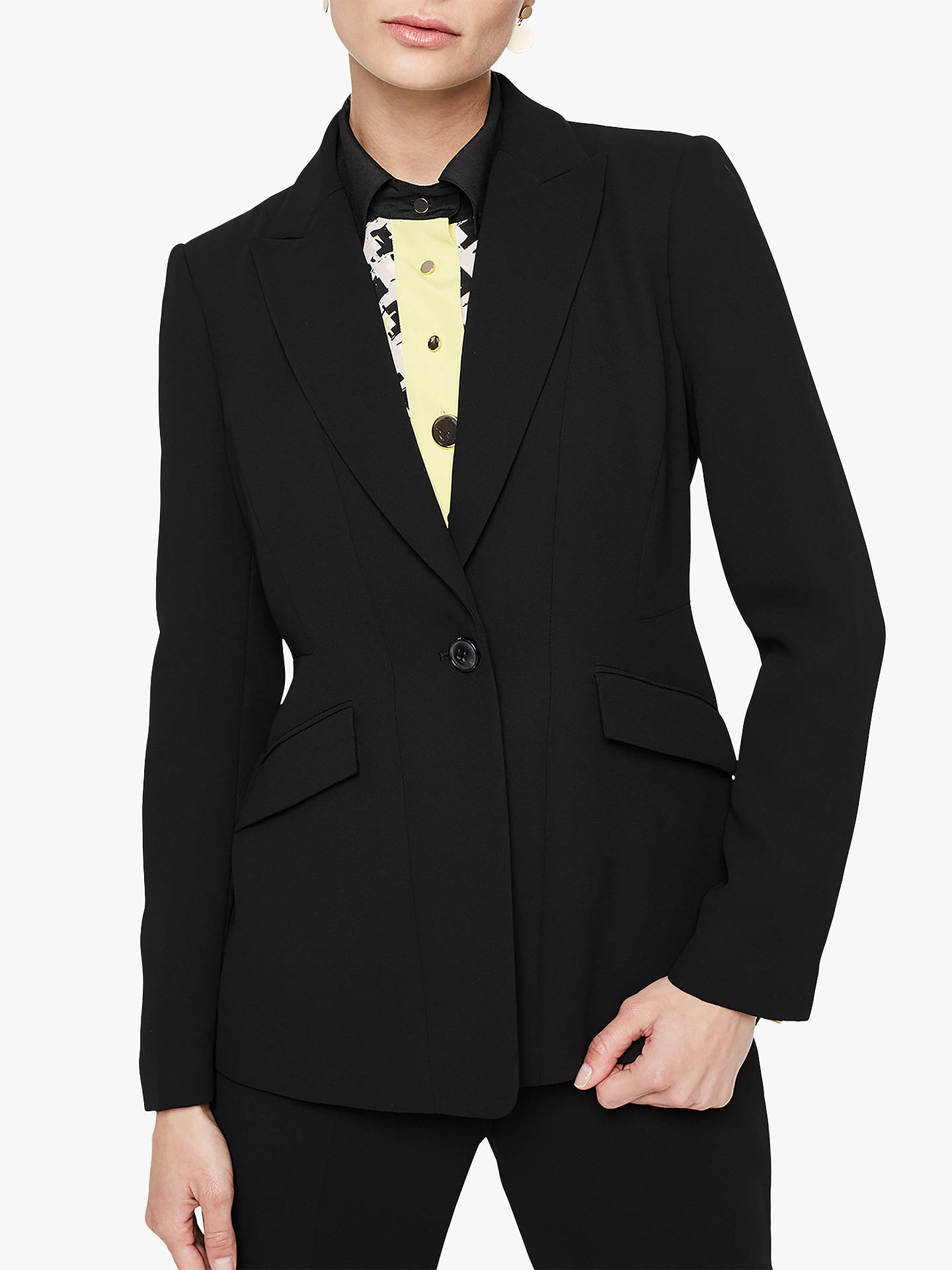 Buy Damsel in a Dress Lydia City Suit Jacket, Black, 8 Online at johnlewis.com