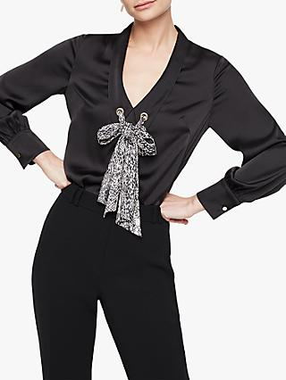 Damsel in a Dress Fabrissa Snake Print Blouse