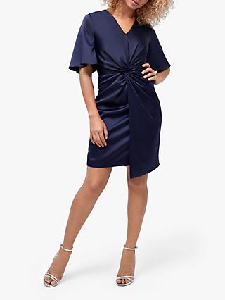 Coast Keri Knot Dress, Navy