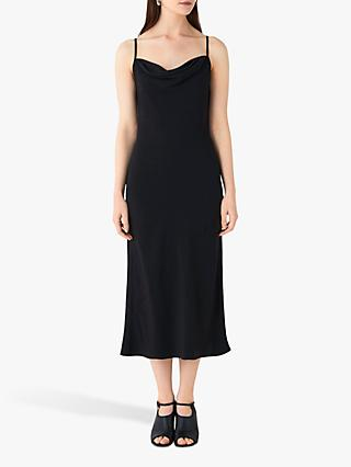 Finery Amela Slip Dress, Black