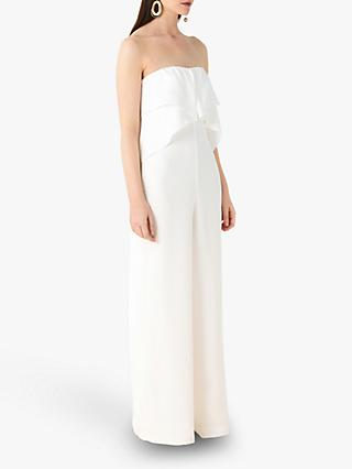 Finery Acacia Wide Leg Jumpsuit, White