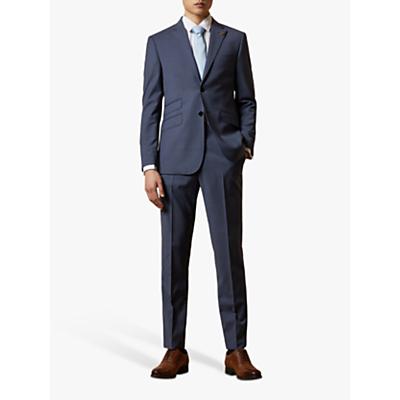 Ted Baker Keller Wool Tailored Suit Jacket, Blue