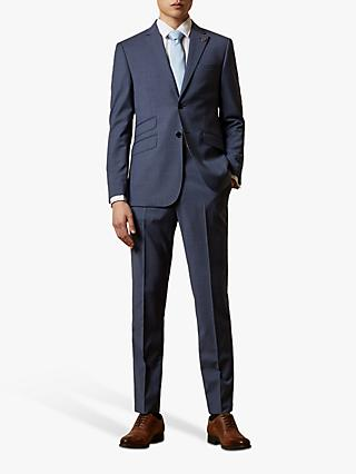 Ted Baker Keller Wool Tailored Suit Jacket, Blue