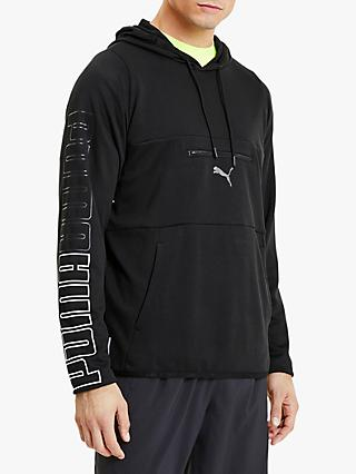 PUMA Power Knit Training Hoodie, PUMA Black