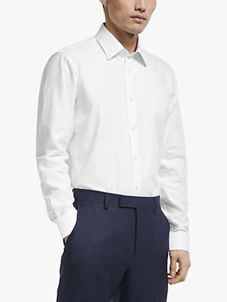 Ted Baker Clampo Plain Cotton Shirt, White
