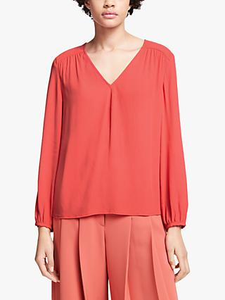 John Lewis & Partners Stitch Detail Top