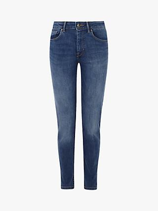 Karen Millen Mid-Wash Jeans, Denim