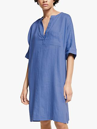 John Lewis & Partners Dolman Sleeve Linen Dress