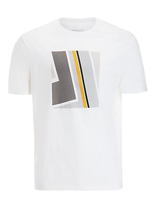 Kin Abstract Print T-Shirt, White