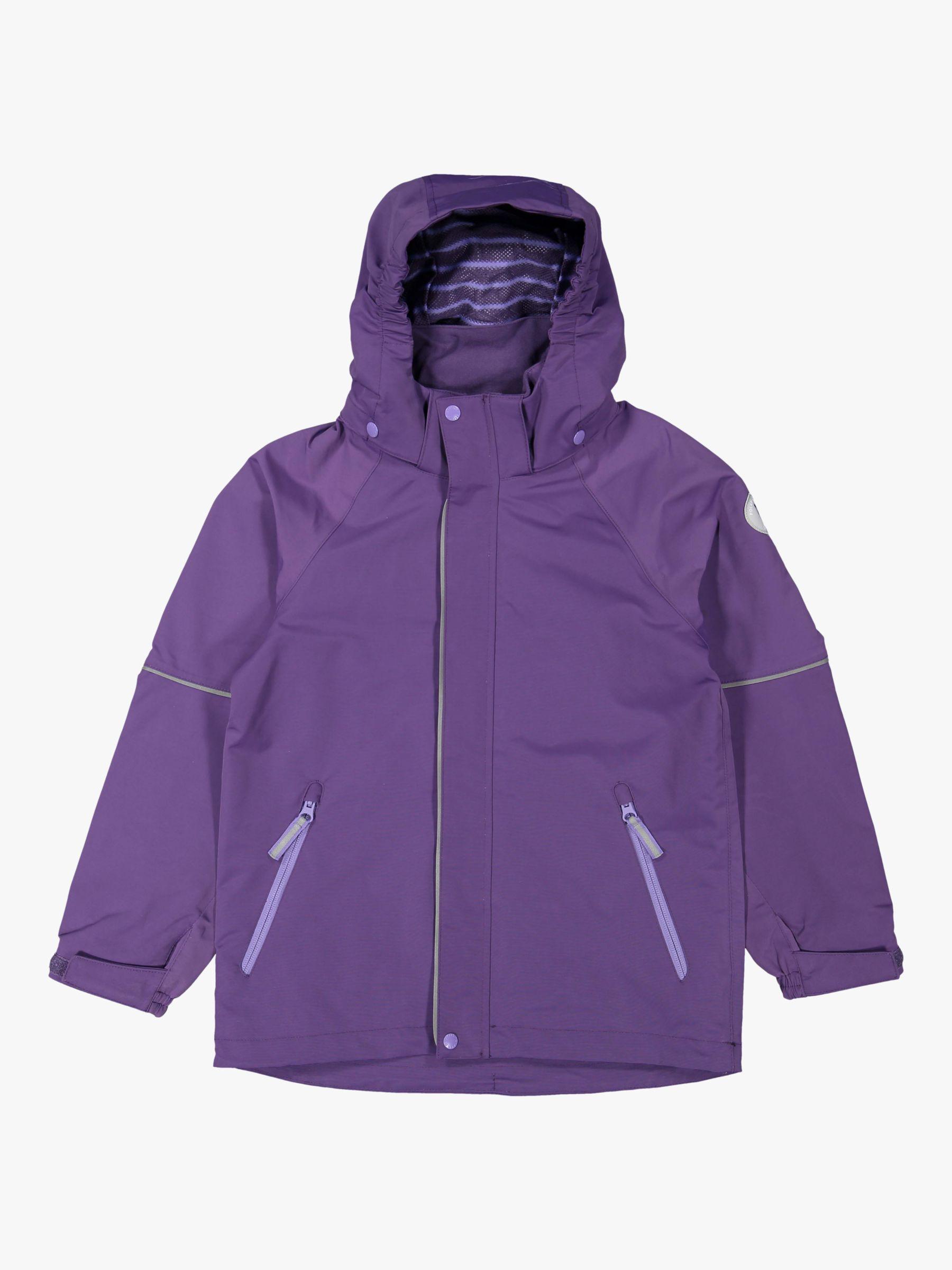 Polarn O. Pyret Polarn O. Pyret Children's Shell Coat, Purple