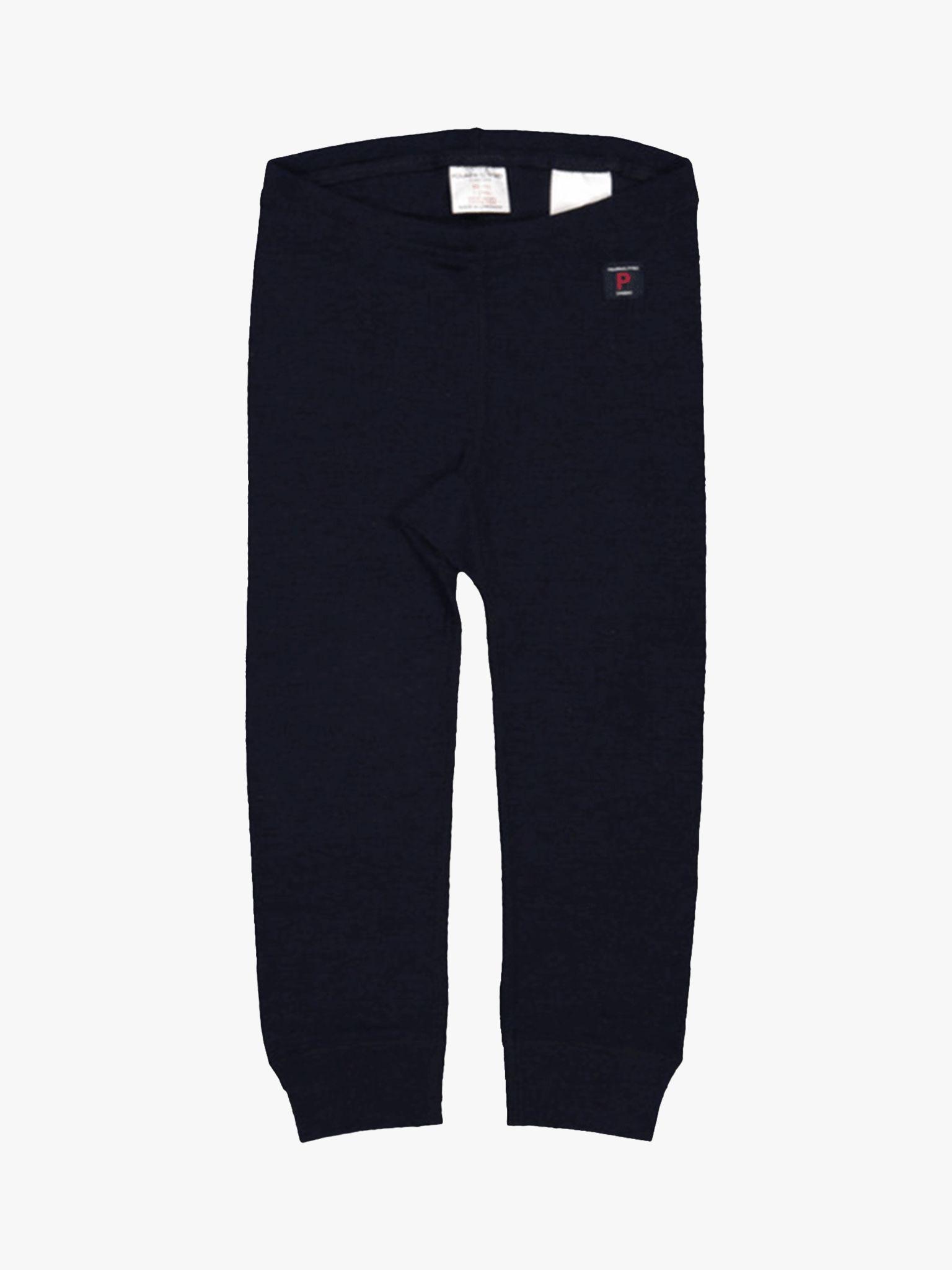Polarn O. Pyret Polarn O. Pyret Children's Merino Wool Long Johns, Dark Sapphire