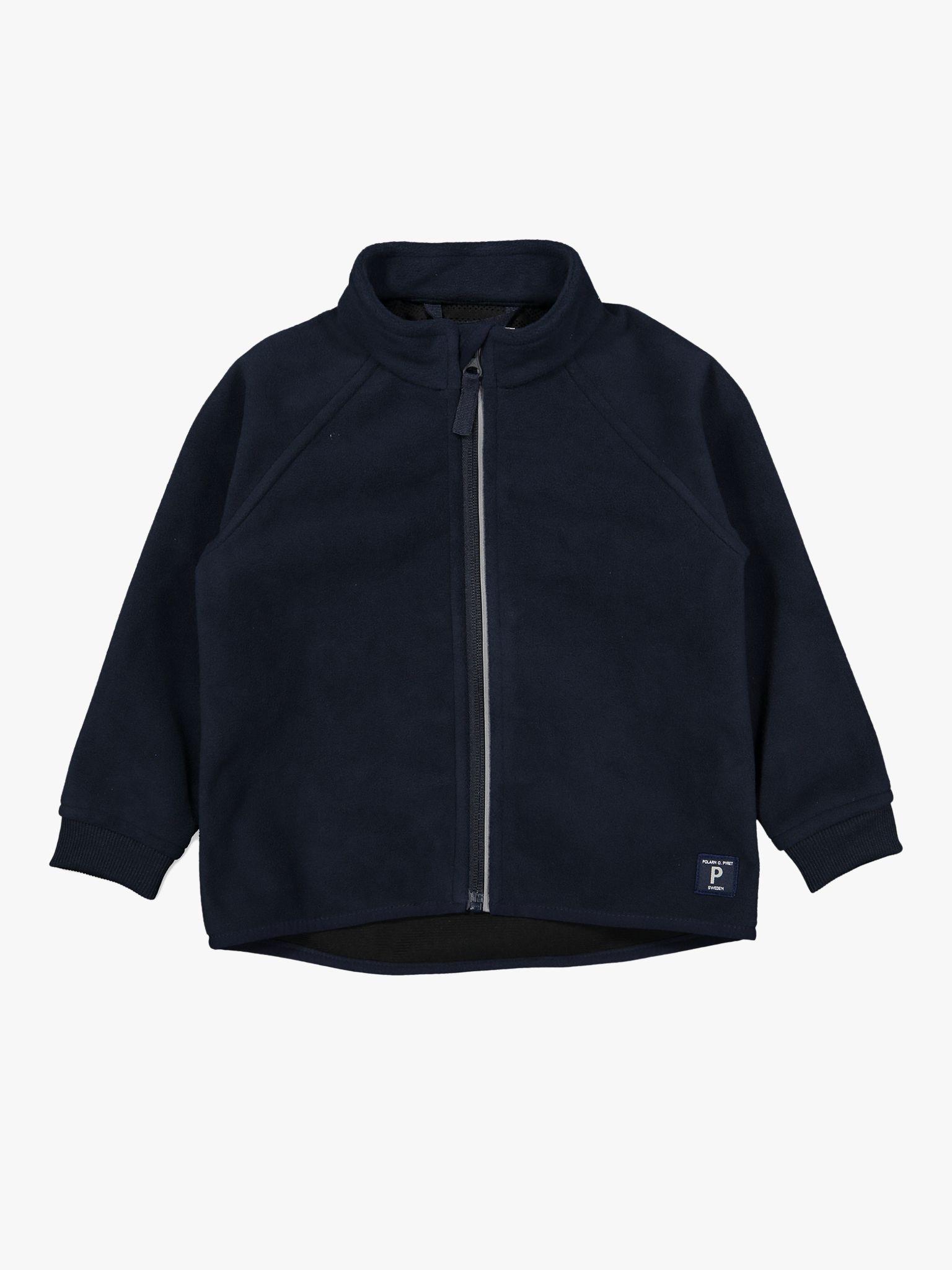 Polarn O. Pyret Polarn O. Pyret Baby Fleece Jacket, Dark Sapphire