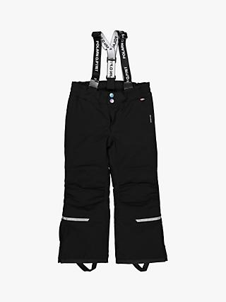 Polarn O. Pyret Children's Padded Trousers, Black