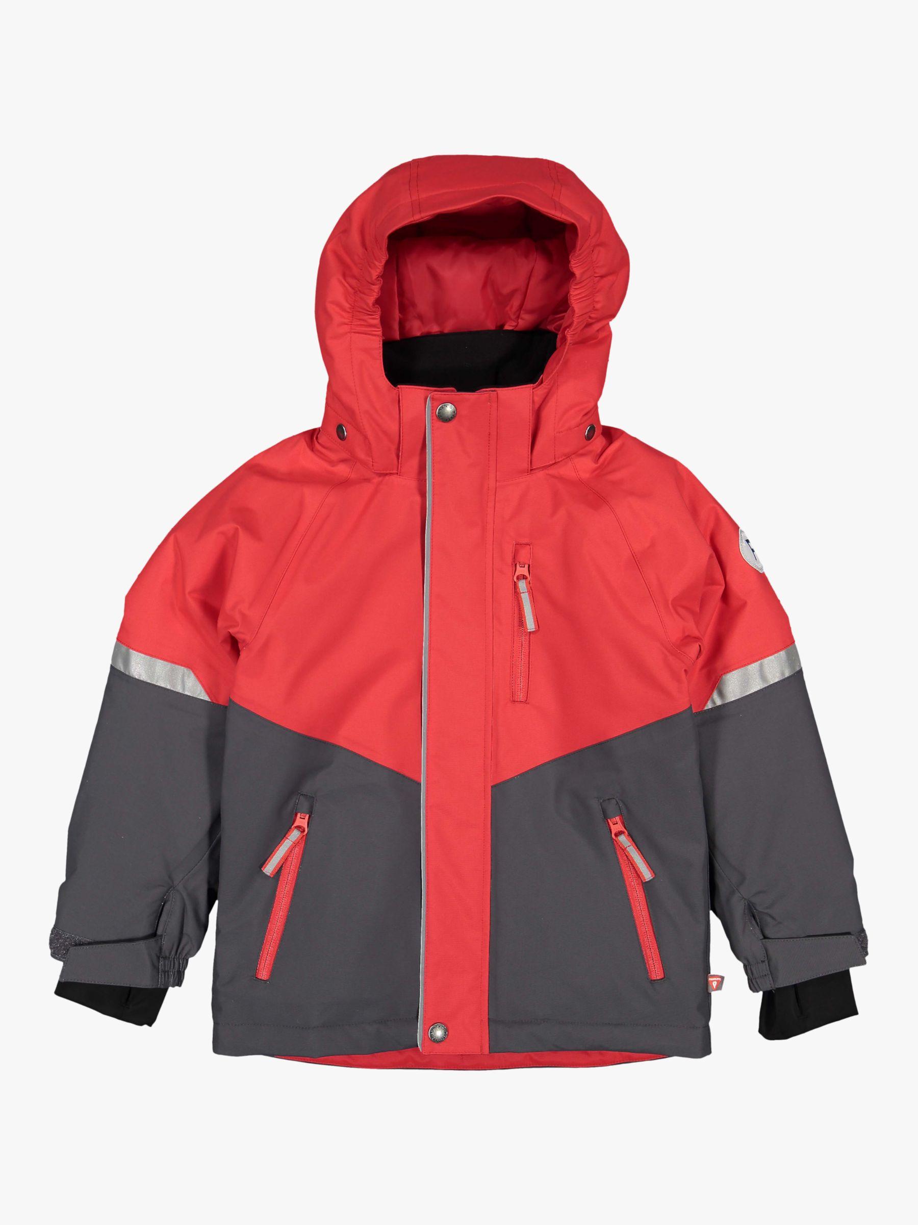 Polarn O. Pyret Polarn O. Pyret Children's Winter Jacket, Ribbon Red