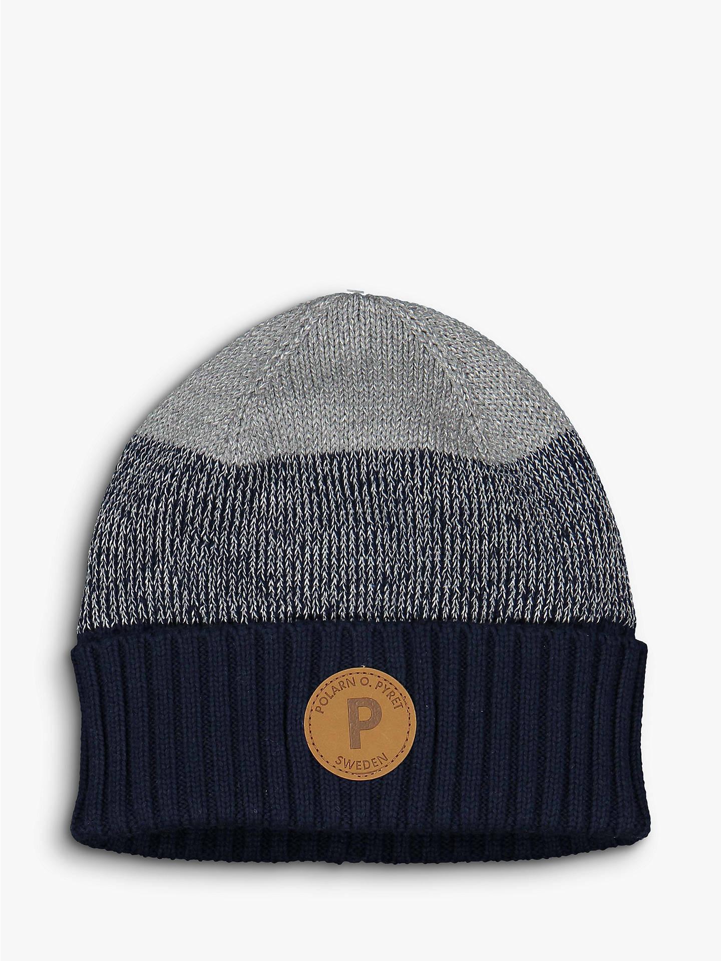 Polarn O Pyret Boys Age 2-12Y Girls Was  £20. Kids Reflective Beanie Hat