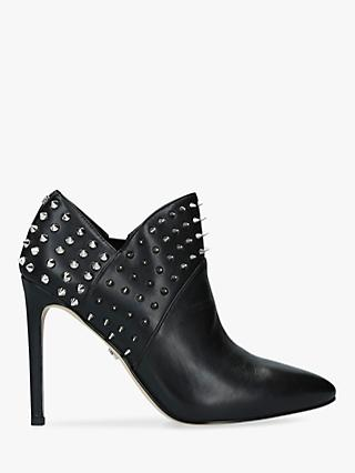 Sam Edelman Wally Leather Stud Shoe Boots, Black