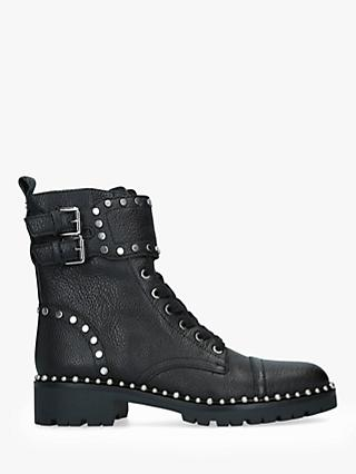 Sam Edelman Jennifer Leather Stud Ankle Boots, Black