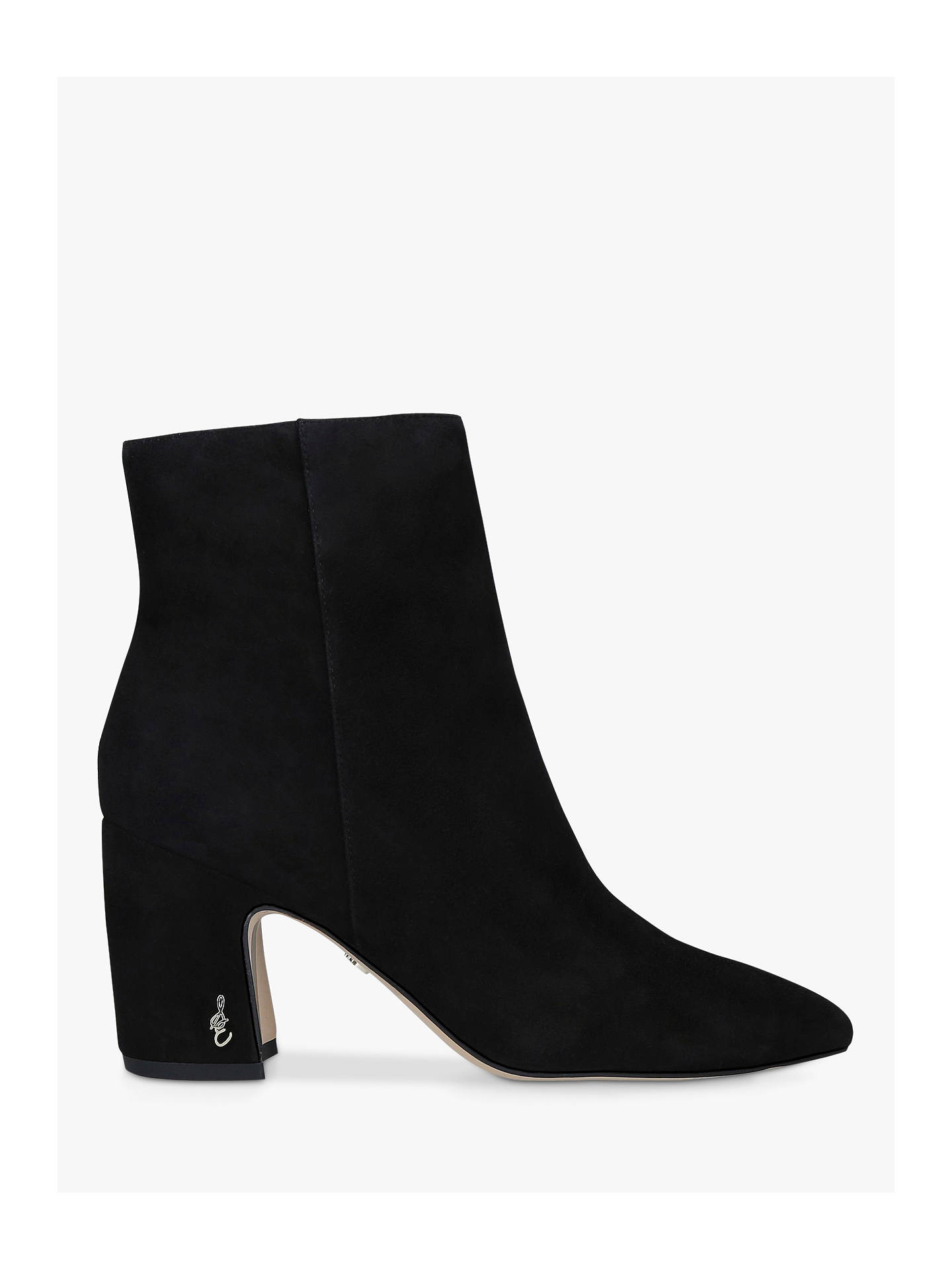 Sam Edelman Taye Women/'s Black Suede Ankle Boots NW//OB