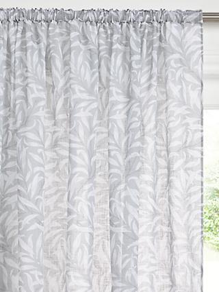 Morris & Co. Willow Boughs Slot Top Voile Panel