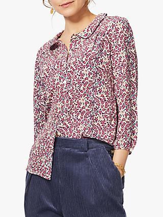b1ed341fe10 Women's Silk Shirts | Blouses & Tops | John Lewis & Partners