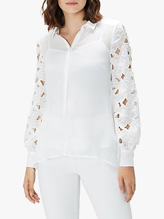 Coast Lace Sleeve Blouse, Ivory
